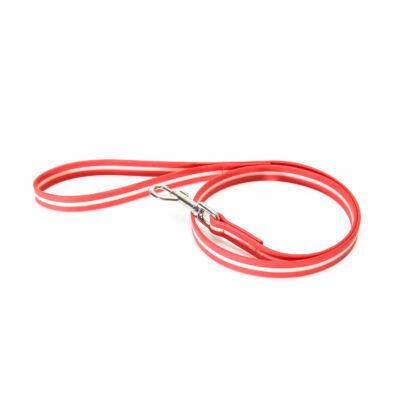 IDC® Lumino póráz, piros, 1,5 méter, fogóval